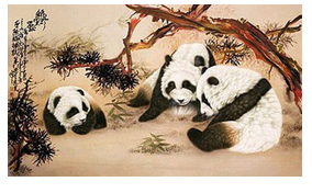 Reflections on the Observation of the Painting by the H.H. Dorje Chang Buddha III – Pandas